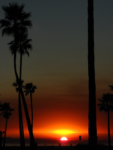 Sunset at Newport Beach, CA