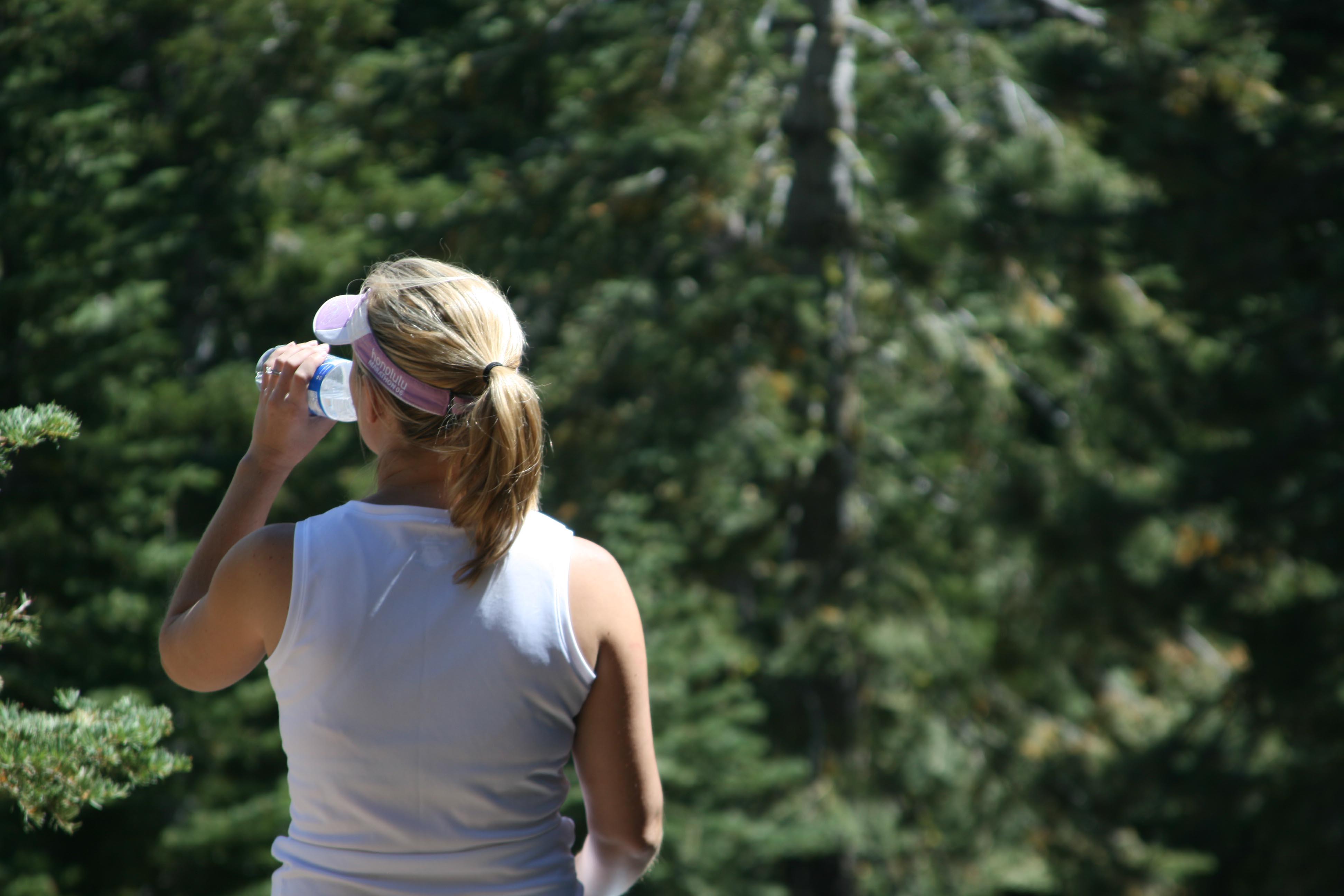 Erin Bibeau on a Sierra Hike
