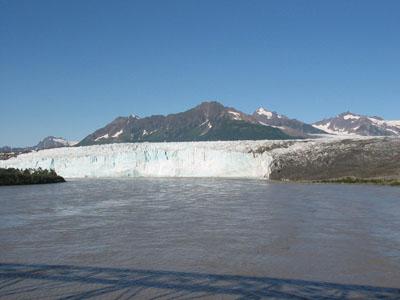 Childs Glacier Viewed from the Million Dollar Bridge
