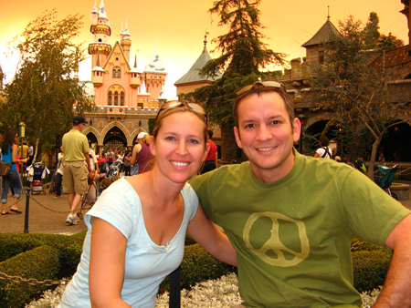 Bryan and Erin at Disneyland