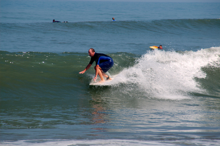 Surfing in Sayulita, Mexico