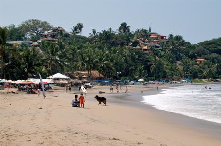 Beach at Sayulita, Mexico