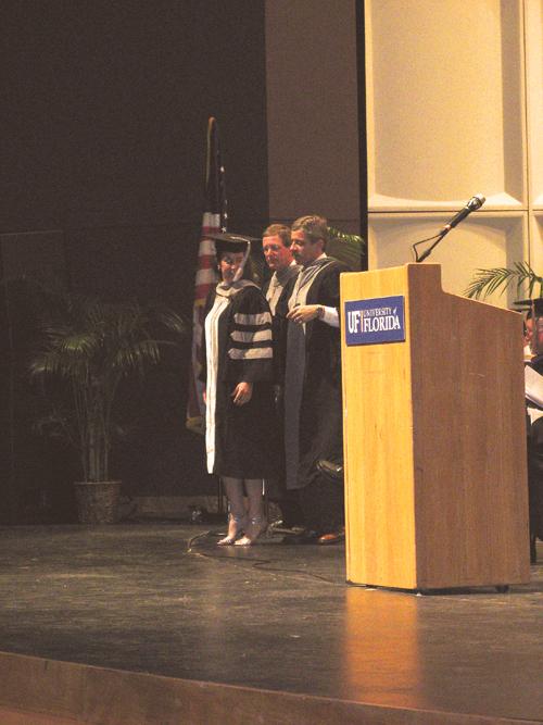 Megan Romano Graduation