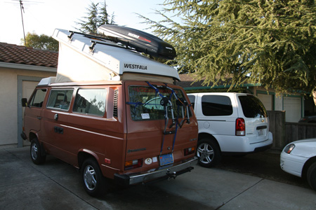 Vanagon Westfalia Yakima Roof Racks